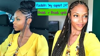 Braids & Beads Updo with