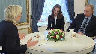 Putin & Marine Le Pen devise evil plan