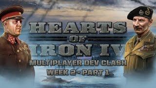 HoI IV - World War Wednesday - Dev Clash Week 2 - Part 1