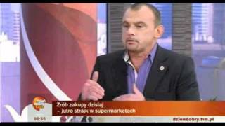 Wywiad z Alfredem Bujarą, dzień przed strajkiem włoskim. 2010