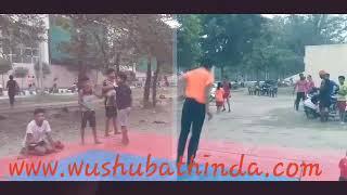 Back flip @wushubathinda