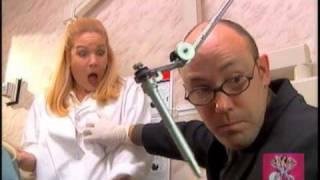 space Girls professor pinprick grabs nurses breast