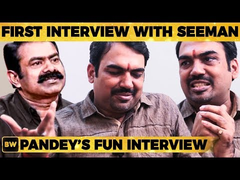 Xxx Mp4 Pandey S First Interview With Seeman Rangaraj Pandey S Tension Moment Revealed EN50 3gp Sex