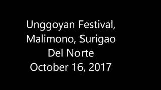 Unggoyan Festival, Malimono, Surigao Del Norte