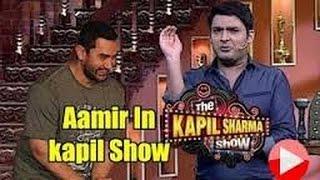 Amir Khan promote a Dangal in kapil sharma show...