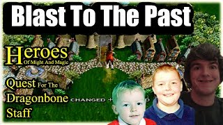 Blast To The Past: Heroes Of Might And Magic,Quest For The Dragonbone Staff