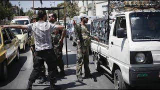 شاهد كيف يسوق نظام الأسد سكان دمشق إلى التجنيد الإلزامي- هنا سوريا