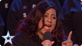 The B Positive Choir are ready to 'Rise Up' | Auditions Week 1 | Britain's Got Talent 2018