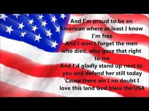 watch Lee Greenwood - God Bless The USA (Lyrics)