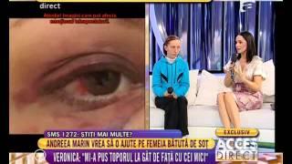 Andreea Marin la Acces Direct - Antena 1, 27.11.2014