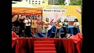 the voices of filguys divas  mini concert at chater road central hong kong