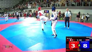 616-Beros, Kristina  TK DUBRAVA (CRO) vs Lacoste, Juliette  Cosmatkd Arcueil (FRA) 17-3