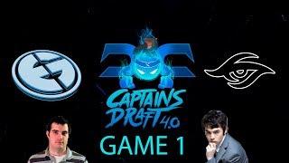 Captains Draft 4.0 - EG vs Secret Game 1