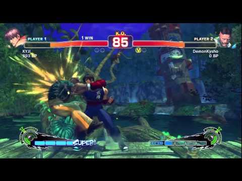Spiral - Super Street Fighter IV - DemonKysho Vs Kyji