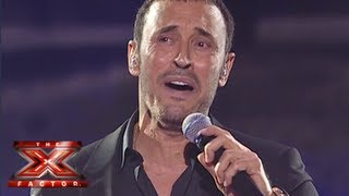 كاظم الساهر - ماريدك بعد روح - العروض المباشرة الأسبوع 4 - The X Factor 2013