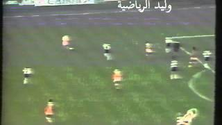 تسديدة فان باستن بالعارضة ضد ألمانيا يورو 92 تعليق عربي
