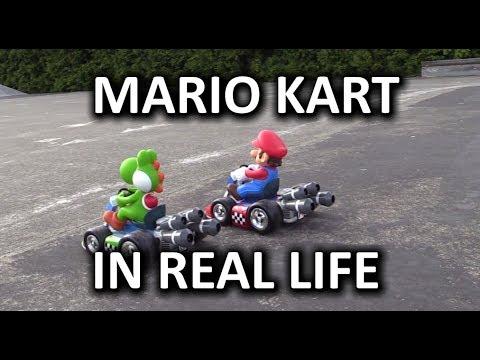 Real Life Mario Kart R C Race