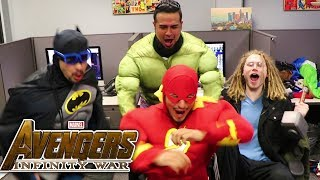 BETTER THAN JUSTICE LEAGUE!! Marvel Studios' Avengers: Infinity War Official Trailer REACTION