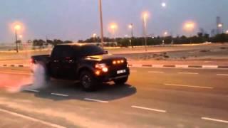 Twin turbo ford raptor custom fabrication in Dubai