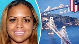 DUI woman jumps off the Bay Bridge to avoid arrest, but is captured anyway - TomoNews