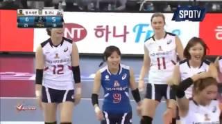 Korean Volleyball Girl Dancing | Sport Fun 2016