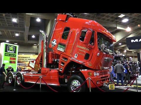 2009 Freightliner Argosy 24 Cylinder 2600hp Truck Walkaround 2015 Expocam Montreal