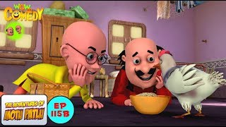 Samosey Wali Murgi - Motu Patlu in Hindi - 3D Animated cartoon series for kids - As on Nick