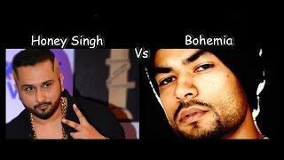 who is best Honey Singh Vs Bohemia   Live Muqabla