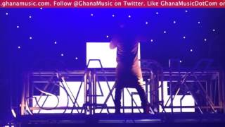 Sarkodie - Performs 'Hand To Mouth' at Rapperholic concert 2015 | GhanaMusic.com Video
