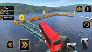 REAL Mega Ramp Bus Stunt Racing Driver Game 2019 #Bus Racing Games For Android #Games For Kids