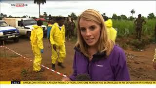 Pregnant survivor of the Sierra Leone mudslides  - Rebecca Williams
