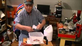 Milk jugs into hammers   recycled HDPE part 1