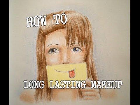Πώς θα κρατάει το μακιγιάζ περισσότερο!Tips for long lasting makeup in greek.