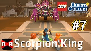 Scorpion King Boss Fight - LEGO Quest & Collect - iOS / Android - Gameplay Part 7