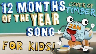 12 Months of the Year Song for Kids!