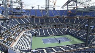 Roof Appearing Atop US Open Stadium