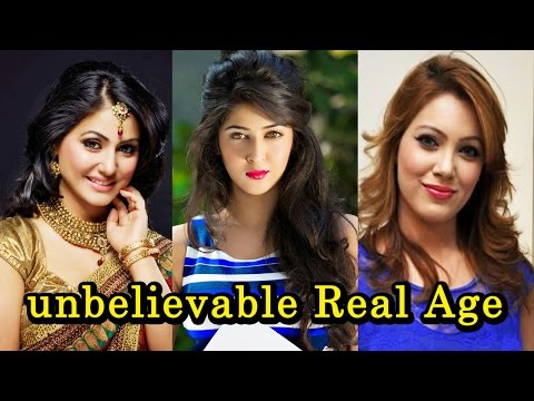 13 Famous TV Actresses And Their Real Age   2017