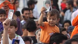 Masif !! Sunni and syiah Menyambut Ayatollah Khamenei