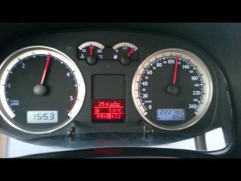 VW Bora 1.9 131 ps TDI Top Speed