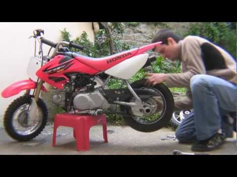 Download meven , crazy stunt on stock honda crf 50 free