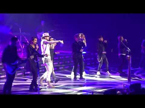 "Florida Georgia Line with Backstreet Boys ""God, Your Mama, and Me"" 10-13-2016"