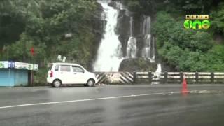 Valanjanganam water fall in Idukki - A Dangerous  Spot
