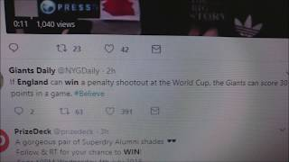 England Wins Vs Colombia Penalty Shootout Tweet Reading