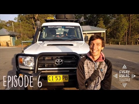 Ep. 6 Troopy Upgrade | Visiting Glasshouse Mountains & Edinborough Falls  - Everywhere Together