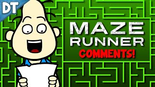 MAZE RUNNER INTERVIEW COMMENTS!! : Todd