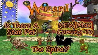 Is There a New, Higher, Max Stat Pet Coming to Wizard101?