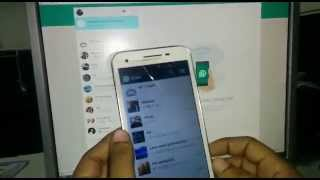 whatsaap for web in telugu -how to use whatsapp for pc or laptop