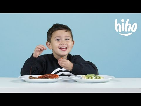 More Christmas Foods American Kids Try Food from Around the World Ep 11 Kids Try Cut