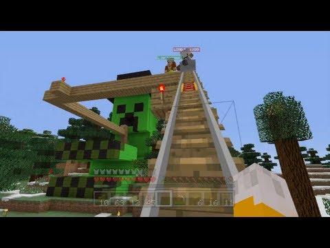 Minecraft Xbox Thrill Ride 55