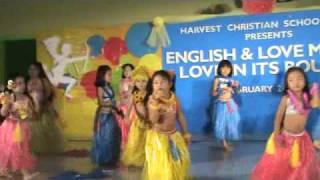HCSI Kindergarten Hawaiian Dance Presentation